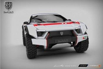 """Sand Racer – """"quái thú"""" đầu tiên của Zarooq Motors"""