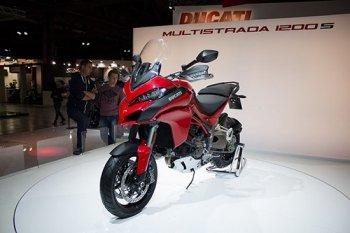 Ducati Multistrada 1200 2016 sắp ra mắt tại Việt Nam