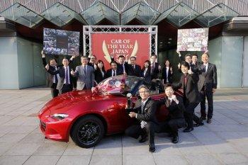 Mazda MX-5 giành giải 'Xe của năm' tại Nhật