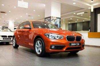 BMW 1-Series 2016 ra mắt người dùng Việt, giá 1,3 tỷ đồng