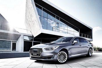 Sedan hạng sang Hyundai Genesis G90 chính thức trình làng