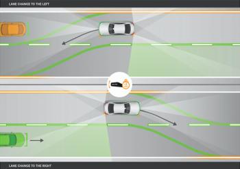 Khám phá hệ thống chuyển làn mới trên Mercedes E-Class 2017