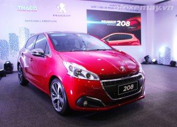 Peugeot 208 mới vừa ra mắt Việt Nam có giá rẻ nhất hạng