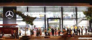 Ra mắt phòng trưng bày Mercedes-Benz kiểu mới tại Sài Gòn