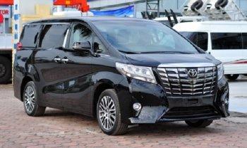 Toyota Alphard 2016 - 'Chuyên cơ mặt đất' lần đầu cập bến Việt Nam