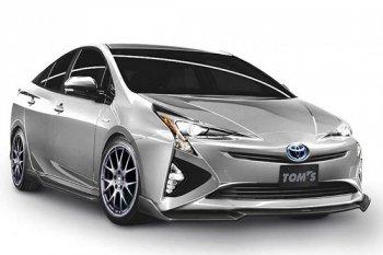 Bất ngờ với dáng vẻ hầm hố của Toyota Prius mới