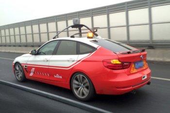"""Baidu Trung Quốc """"nhái"""" tham vọng xe tự lái của Google"""
