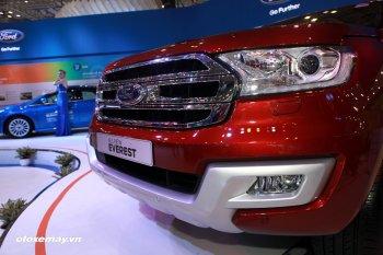Ford chính thức báo giá Everest Mới từ 1,249 tỷ đồng