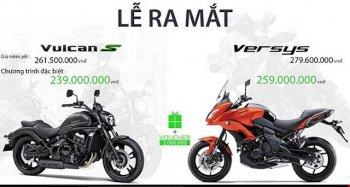 Kawasaki Vulcan S và Verisy 650 sắp bán tại Việt Nam