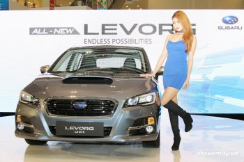 Subaru Levorg mới sắp đến tay người Hà Nội