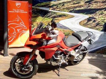 Ducati Multistrada 1200 2016 được bán với giá từ 649 triệu