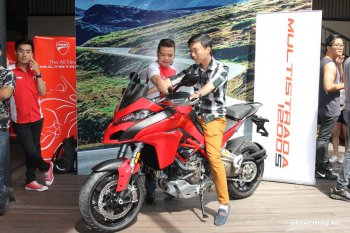 """Đồ chơi đáng tiền có trên """"hàng nóng"""" Ducati Multistrada 1200 S"""
