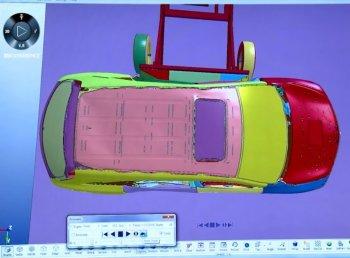 Thử nghiệm va chạm trên máy tính: tương lai của an toàn xe hơi
