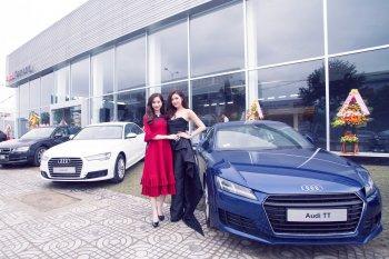Dàn đại sứ thương hiệu đổ bộ tới showroom thứ ba của Audi
