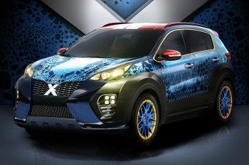 Kia trình làng Sportage theo phong cách X-Men
