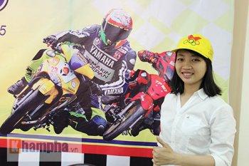 Giải đua xe tay ga nữ tại Việt Nam ngay đầu năm