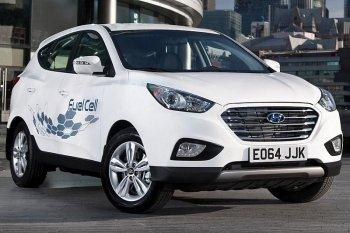 Xe pin nhiên liệu Hyundai chạy được hơn 800km