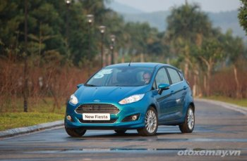 Cảm nhận Ford Fiesta EcoBoost 2014