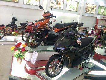 Loạt xe tay ga Honda đua nhau tăng giá dịp đầu năm