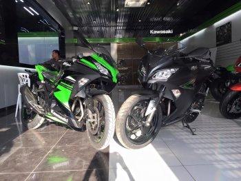 16 chiếc Kawasaki Ninja 300 ABS 2016 giá 149 triệu đồng