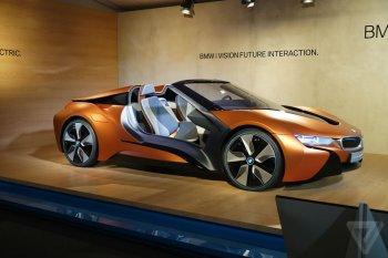 BMW khoe công nghệ qua i Vision Future Interaction Concept