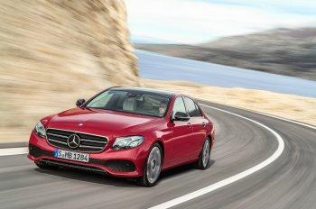 """Mercedes-Benz E-Class 2017 """"sedan sang trọng, thông minh nhất"""""""