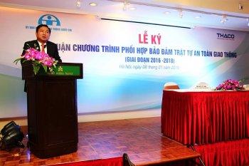 Thaco góp sức nâng cao an toàn giao thông tại Việt Nam