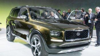 Kia Telluride- SUV cỡ lớn hoàn toàn mới trình làng