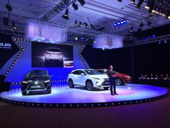 Lexus RX hoàn toàn mới  ra mắt Việt Nam