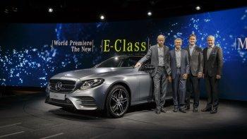Ảnh thực tế Mercedes-Benz E-Class 2017
