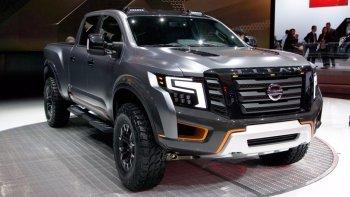 """NAIAS 2016: Nissan giới thiệu """"chiến binh đường trường"""" - Titan XD concept"""