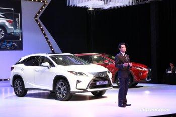 Lexus RX200t 2016 lần đầu ra mắt tại Việt Nam