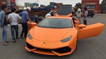 """Đầu năm, """"siêu bò"""" Lamborghini Huracan đã """"hot"""" tại Việt Nam"""