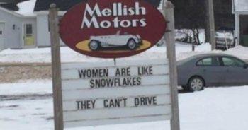 """Đại lý ô tô bị chỉ trích vì """"coi thường"""" phụ nữ"""