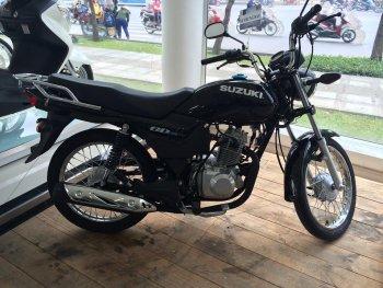 Xe côn tay Suzuki GD110 bất ngờ xuất hiện tại Việt Nam