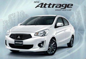 Trình làng Mitsubishi Attrage mới giá rẻ cho Đông Nam Á