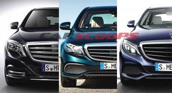 So sánh nhanh Mercedes-Benz S-Class, E-Class và C-Class mới