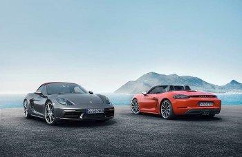 Porsche công bố xe mới 718 Boxster và 718 Boxster S