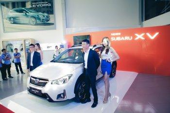 Subaru khai trương showroom 3S và ra mắt XV 2016 mới
