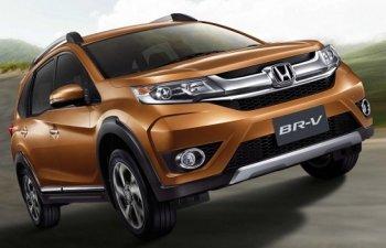 Honda BR-V 2016 chốt giá bán từ 21.000 USD tại Thái Lan