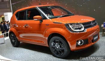 Crossover siêu nhỏ Suzuki Ignis giá từ 253 triệu đồng