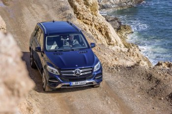 Trải nghiệm khả năng off-road của Mercedes-Benz GLE