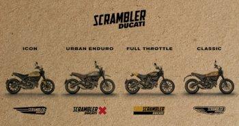 Ducati bất ngờ ra mắt tới 4 mẫu Scrambler