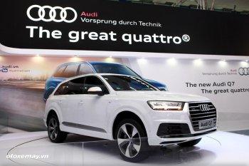 Audi lập kỷ lục bán hàng mới trong tháng 1/2016