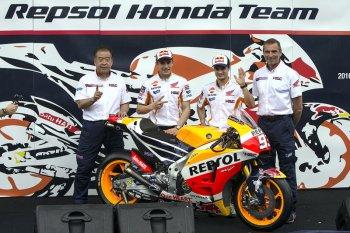 Repsol Honda Team giới thiệu xe đua mới tại Indonesia