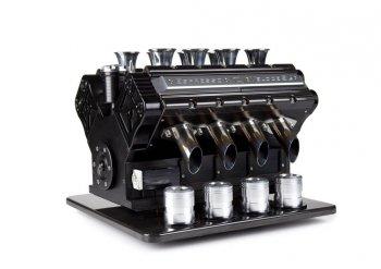 Động cơ ô tô thành máy pha cafe