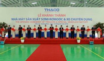 THACO đầu tư 150 tỷ đồng xây dựng nhà máy xe chuyên dụng hạng nặng