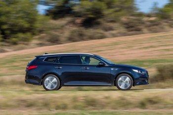 Kia Optima Wagon: Xe gia đình bắt mắt