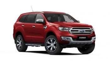 Ford Everest mới có chỉ số an toàn cao