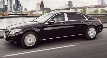 """Mercedes giới thiệu xe sang chống đạn """"siêu an toàn"""""""